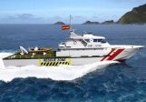 Fast Patrol Boat Disaster Prevention Vesssel